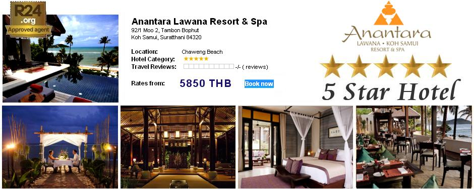 Photo: 5 Star Hotel Anantara Lawana Resort / Koh Samui / 