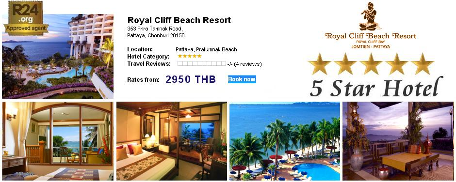 Photo: Pattaya 5-Star Hotel Royal Cliff Beach Resort